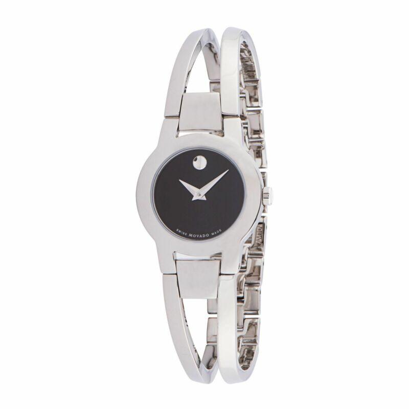 Movado 0604759 Women Amorosa Black Quartz Watch