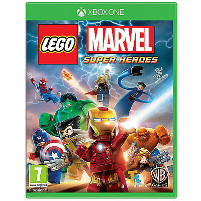 LEGO Marvel Super Heroes Video Game For XBox One Games Console New Sealed