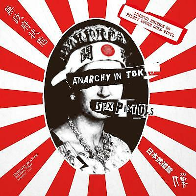 SEX PISTOLS - ANARCHY IN TOKYO: LIMITED EDITION ON FILTHY LUCRE GOLD VINYL