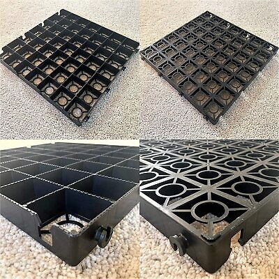 22 black eco500 driveway grids