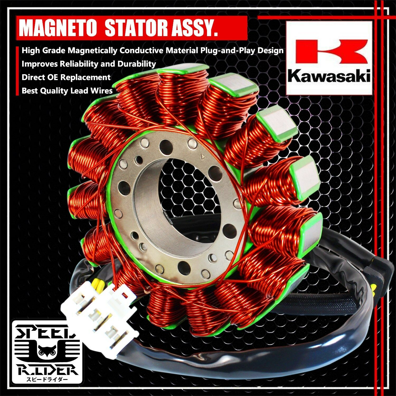 eMUSA OE Stator Assy//Magneto Generator Coil 98 Intruder 1500 VL1500 32101-10F01