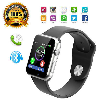 Gsm Watch Phone Bluetooth - A1 Smart Watch Bluetooth Waterproof GSM SIM Phone Camera For Android Samsung LG