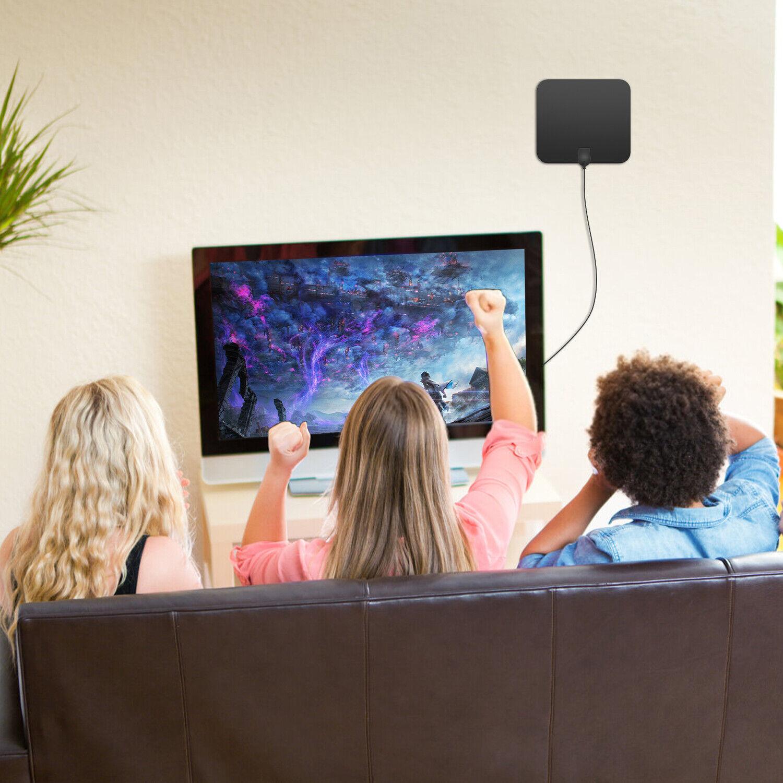 3600 Miles Digital TV Antenna Indoor HDTV Amplified Signal Booster 4K HD 1080P Consumer Electronics