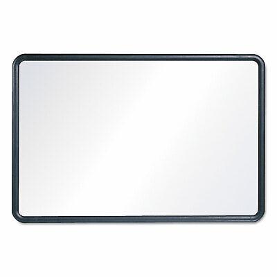Quartet Contour Dry-erase Board Melamine 24 X 18 White Surface Black Frame 7551