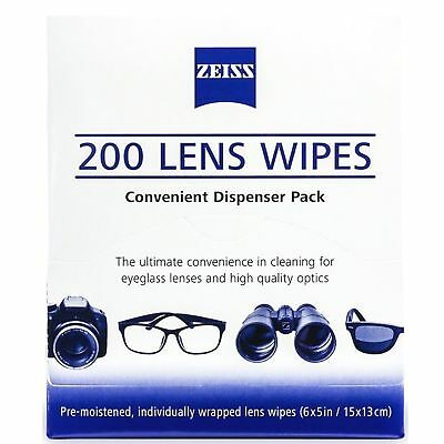 f5be689c420 Zeiss Optical Lens Cleaning Wipes Glasses Phone Screen Camera 50