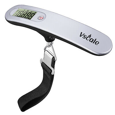 Vscale® Luggage Scale [XT500] Digital Portable Travel Weight Scale 110lb / 50Kg