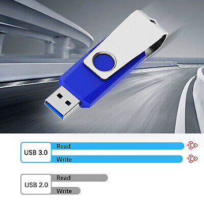 - 1 Pack Portable 128 GB USB 3.0 Flash Drives Anti-Skid Design High Speed Storage