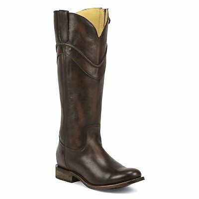 Justin Ladies Jade Mahogany Boot MSL504 ()