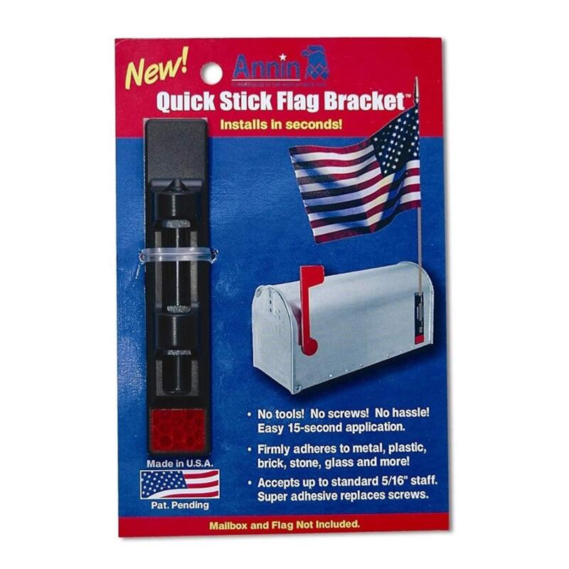 Annin  Co 1943 Quick Stick Flag Bracket For 5/16-Inch Or Sma