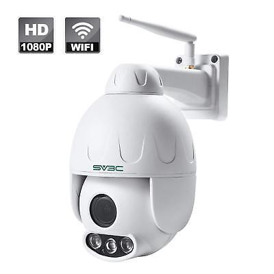 Best WiFi Security Camera SV3C Outdoor PTZ 1080P Pan Tilt Zoom 5X Optical Zoom