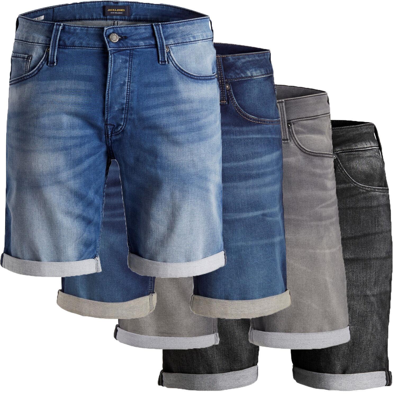 JACK & JONES Rick Icon regular fit Herren Jeans Shorts kurze Hose neu