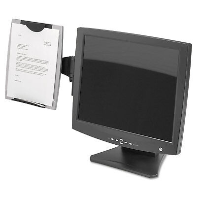 Fellowes Office Suites Monitor Mount - Fellowes Office Suites Monitor Mount Copyholder Plastic Holds 150 Sheets Black