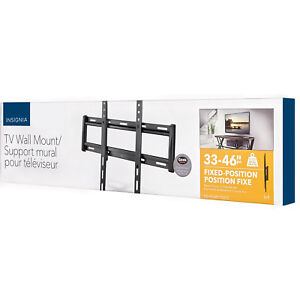 """Insignia 33"""" - 46"""" Fixed TV Wall Mount Brand New"""