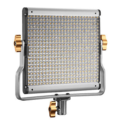 Neewer Dimmable Bi-color 480 LED Video Light with U Bracket and Cleaning Kit