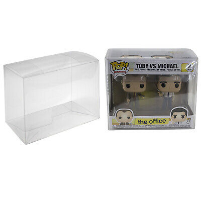 Plastic Box Protector Cases for Funko Pop 2-Pack or VYNL Figures Clear PET Bobbleheads, Nodders
