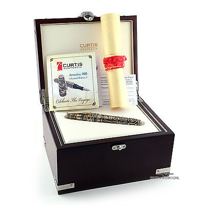 Curtis Australia America 400 Solid Gold Limited Edition Fountain Pen ()