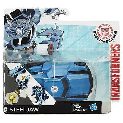 Transformers Robots in Disguise OneStep Changers Figure - Steeljaw 4.5 inch