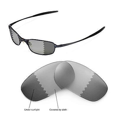 New Walleva Polarized Transition/Photochromic Lenses For Oakley Square Wire (Oakley Square Wire 2.0 Polarized Lenses)