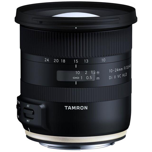 Tamron 10-24mm F3.5-4.5 DI II VC HLD lens Canon Mount