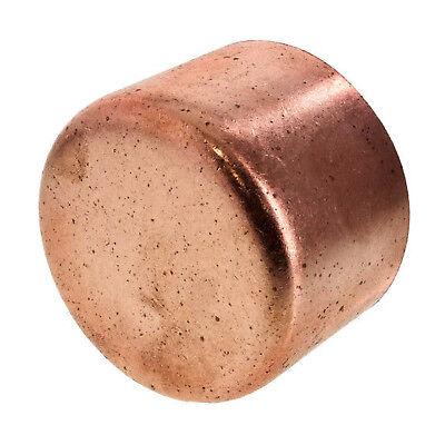 12 Copper Cap Sweat End Bag Of 25 - Copper Pipe Fitting