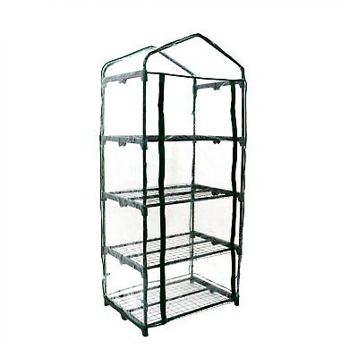 NEW! 4-Tier Mini Growhouse Garden Greenhouse for sale  United Kingdom