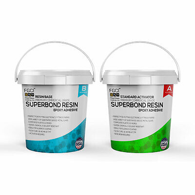 Epoxy Superbond Resin 2 Quart Kit Slow Cure Includes Part A B 135362