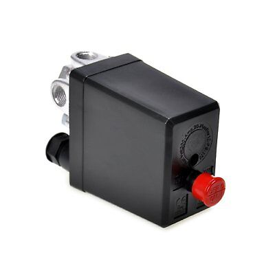 Jqworkland Air Compressor Pressure Switch Control Valve 90-120 Psi 240v
