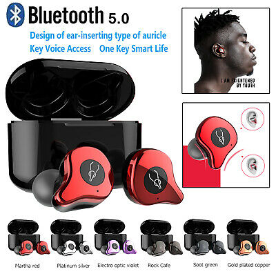 Sabbat E12 Professional Wireless Headset Bluetooth 5.0 Stereo Earbuds Headphone