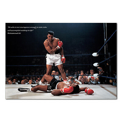 Motivational Poster (Muhammad Ali Motivational Poster - High Quality Prints )