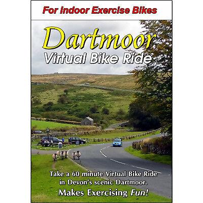 DARTMOOR, DEVON - ENGLAND CYCLING SCENERY DVD - VIRTUAL BIKE RIDE - EXERCISE