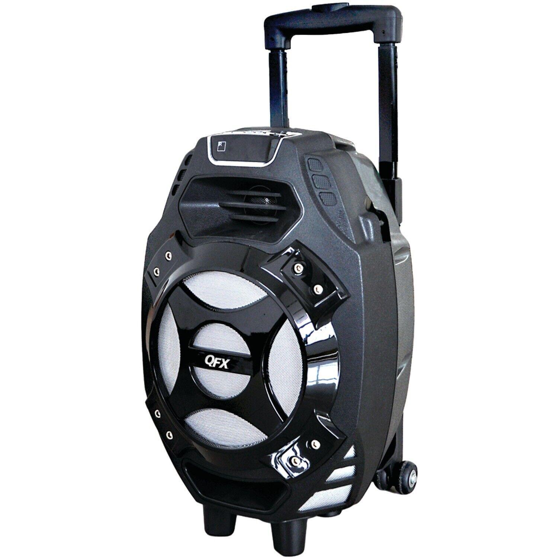 qfx 2 600 watt portable bluetooth party