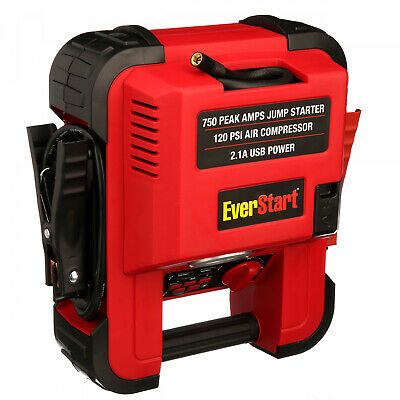 Engine Jump Starter Air Compressor RV Camper ATV Battery Boo