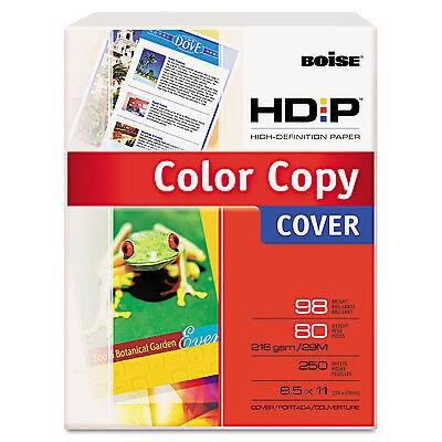 Boise Polaris Premium Color Copy Paper 80lb 98 Bright 8-12 X 11 White 250