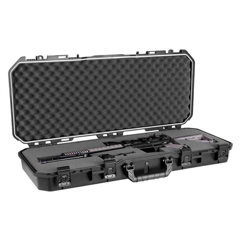 "Plano PLA11836 36"" All Weather Hard Sided Tactical Rifle Long Gun Case, Black"