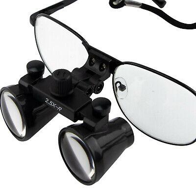2.5x Dental Loupes Surgical Medical Binocular Optical Magnifier Glass Cv-286