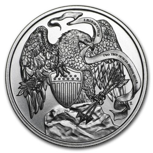 Купить 2 oz Silver HR Round - Presidential Tribute Series: Lincoln - SKU#168659