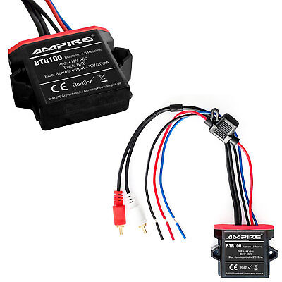 Original Ampire Bluetooth Interface Aux Jack MP3 Cinch for Many Vehicles
