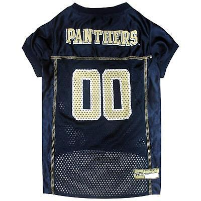 Navy Dog Football Jersey - Pittsburgh Panthers Dog Jersey - SMALL - Navy - Official NCAA - Football - NWT
