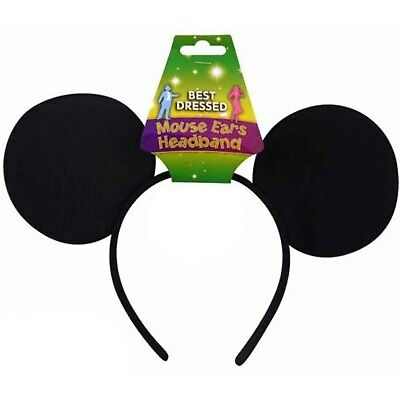 NEW MICKEY MOUSE EARS STAG DO NIGHT MEN BOYS PARTY FANCYDRESS HEADBAND ACCESSORY (Mickey Mouse Kostüme Accessoires)