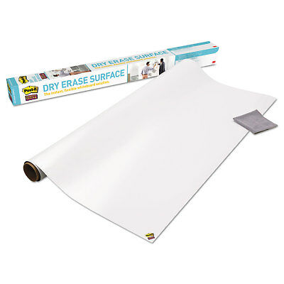 Post-it Film Dry Erase Surface 8 Ft X 4 Ft Whiteboard Tablewall Def8x4