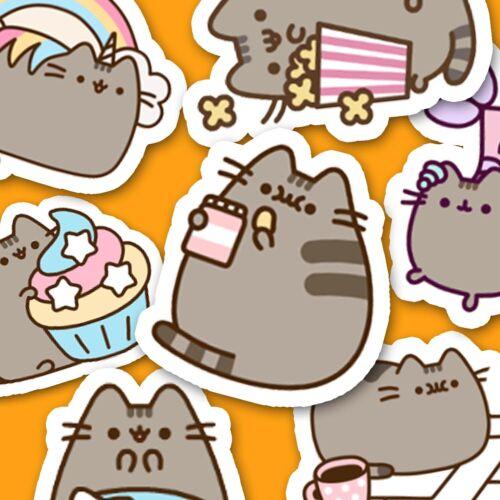 40 Kawaii Cat Stickers, Journal Stickers, Diary Stickers, Scrapbooking [USA]