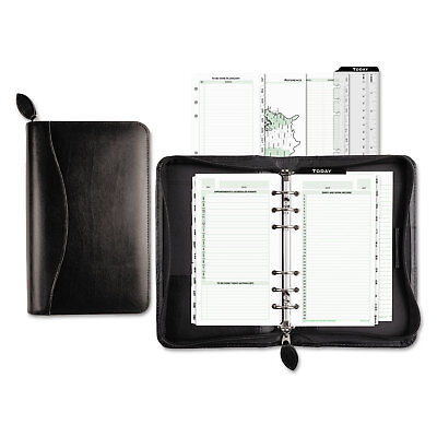 Day-Timer Recycled Bonded Leather Starter Set 3 3/4 x 6 3/4 White 41746 Recycled Starter Set