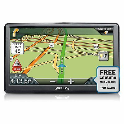"Magellan RoadMate 9612T-LM 7"" Touchscreen GPS with Free Lifetime Maps & Traffic"
