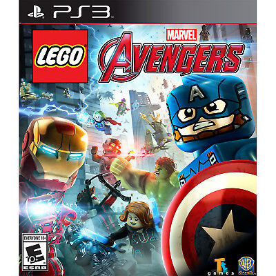 LEGO Marvel Avengers PS3 [Brand New]