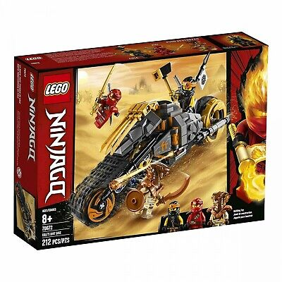 Lego 70672 LEGO Ninjago Cole's Dirt Bike 70672 Building Kit, New 2019 212 Pieces
