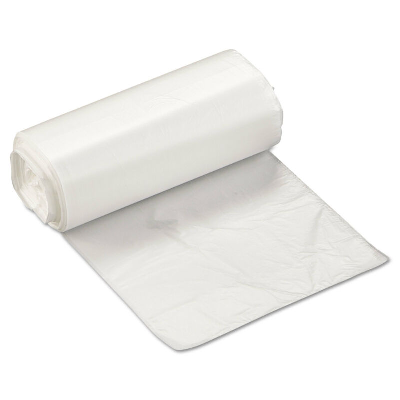 Inteplast Group High-Density Can Liner 17 x 18 4gal 6 Micron Clear 50/Roll 40