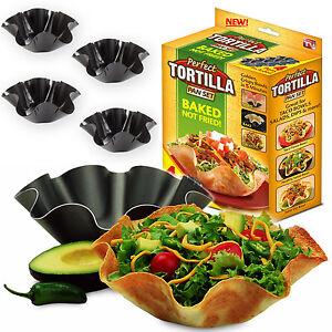 Tortilla Cuisine Poele Plaque De Cuisson Four Moule Fer Blanc Set Taco