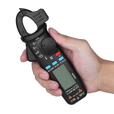 Bside Acm91 Digital Clamp Meter Dc Ac Current Volt Ohm Multimeter True Rms