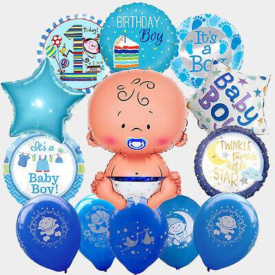 Junge Boy Geburtstag Zahl Helium Luft Latex Stern (Boy Geburtstag)