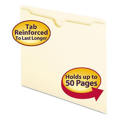 Smead Manila File Jackets Letter 11 Point Manila 100/Box 75500